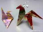 14 AHA MEDIA at Yoko Tomita's Christmas Origami workshop inVancouver