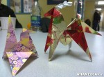 15 AHA MEDIA at Yoko Tomita's Christmas Origami workshop in Vancouver