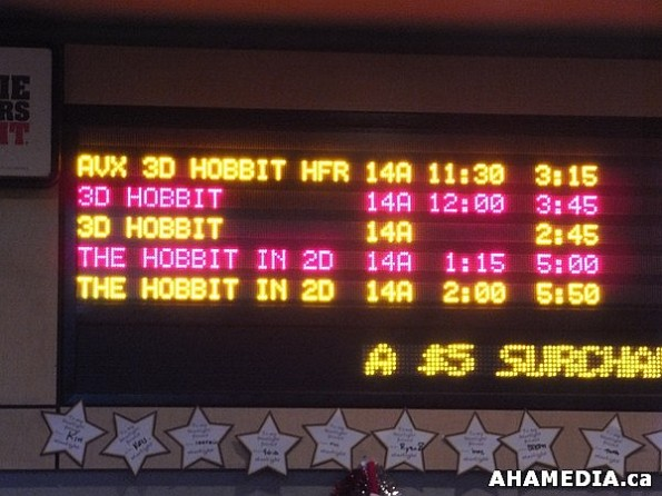 2 AHA MEDIA at The Hobbit premier in Vancouver