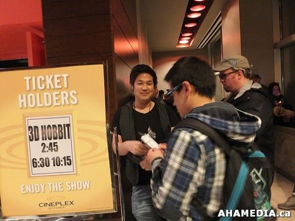 21 AHA MEDIA at The Hobbit premier in Vancouver