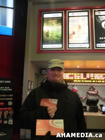 36 AHA MEDIA at The Hobbit premier in Vancouver
