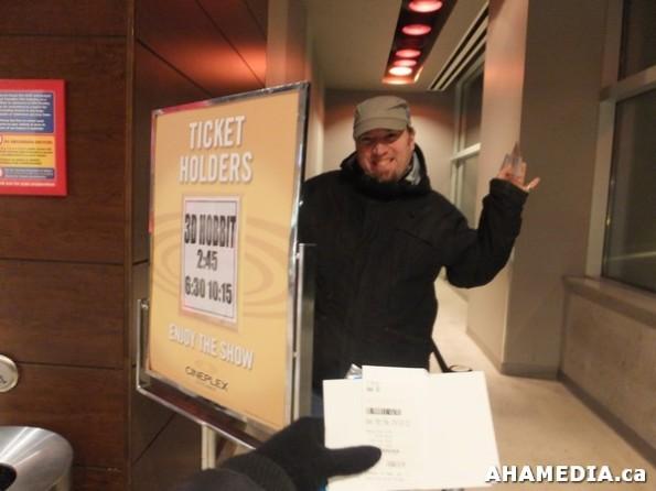 40 AHA MEDIA at The Hobbit premier in Vancouver