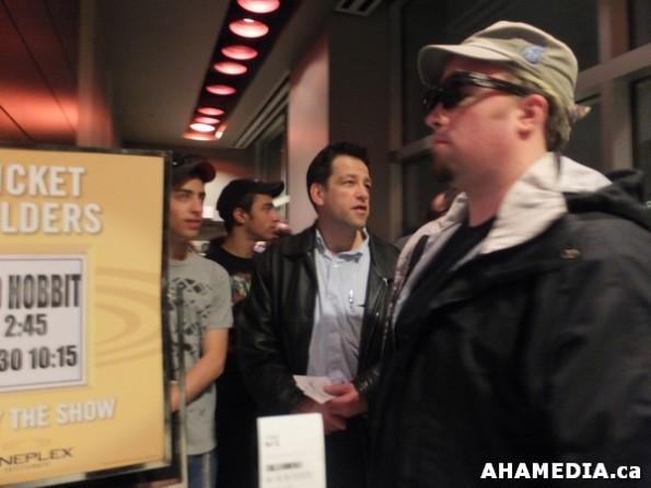 46 AHA MEDIA at The Hobbit premier in Vancouver