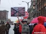 47 AHA MEDIA at Rally for No Condos at Pantages Theatre inVancouver