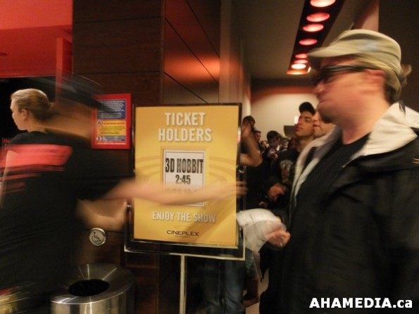 48 AHA MEDIA at The Hobbit premier in Vancouver