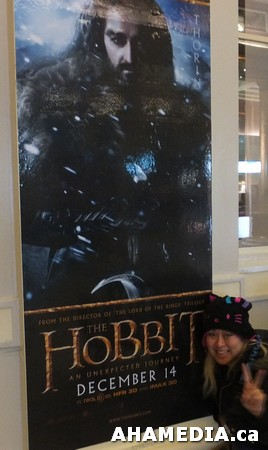 53 AHA MEDIA at The Hobbit premier in Vancouver
