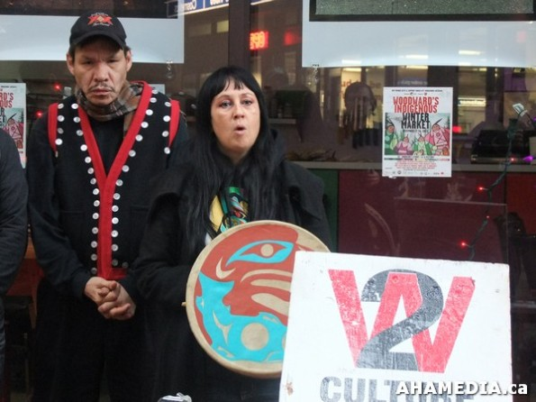 6 AHA MEDIA at W2 Belongs to Me Press Conference on City of Vancouver Locks W2 Media Cafe W2 Community and Indigenous Groups shut out  in Vancouver