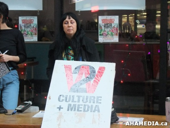 7 AHA MEDIA at W2 Belongs to Me Press Conference on City of Vancouver Locks W2 Media Cafe W2 Community and Indigenous Groups shut out  in Vancouver
