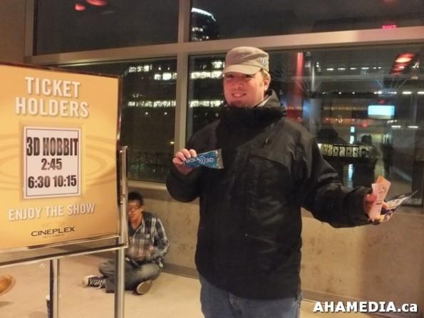 8 AHA MEDIA at The Hobbit premier in Vancouver