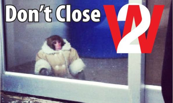 Ikea monkey at W2