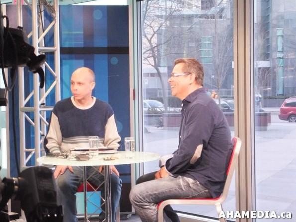 1 AHA MEDIA at Scott Clark interview with Don Walchuk, ICTV program in Vancouver