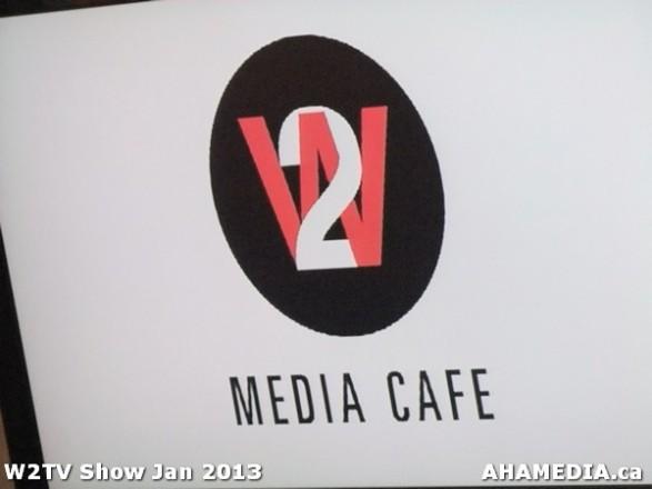 1 AHA MEDIA at W2TV Show taping Jan 20 2013 at Shaw Studios