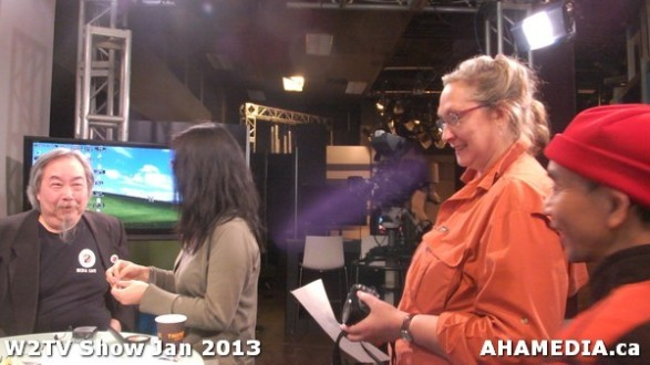 10 AHA MEDIA at W2TV Show taping Jan 20 2013 at Shaw Studios
