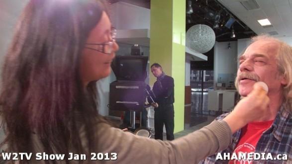 11 AHA MEDIA at W2TV Show taping Jan 20 2013 at Shaw Studios