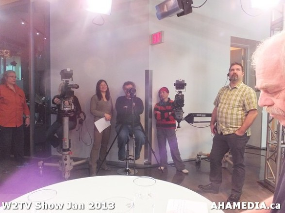 13 AHA MEDIA at W2TV Show taping Jan 20 2013 at Shaw Studios