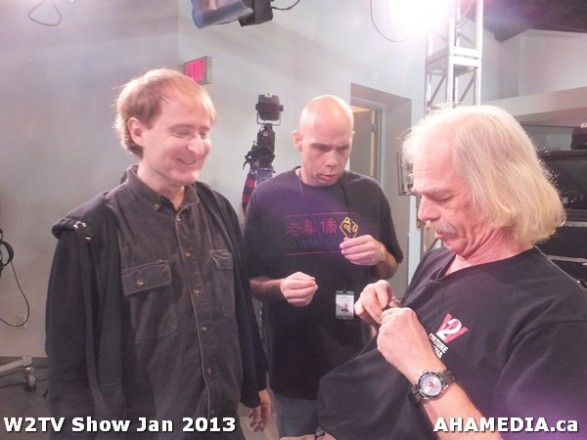 14 AHA MEDIA at W2TV Show taping Jan 20 2013 at Shaw Studios