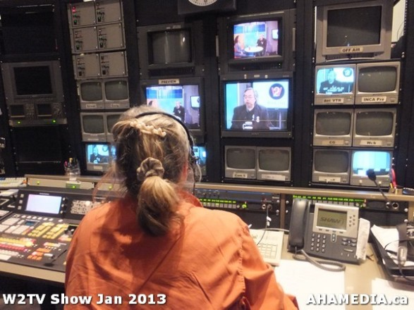 15 AHA MEDIA at W2TV Show taping Jan 20 2013 at Shaw Studios