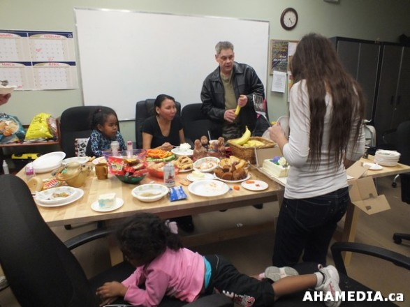 15 AHAMEDIA at Birthday Party and End of 30 Hr Fast for Idle No More
