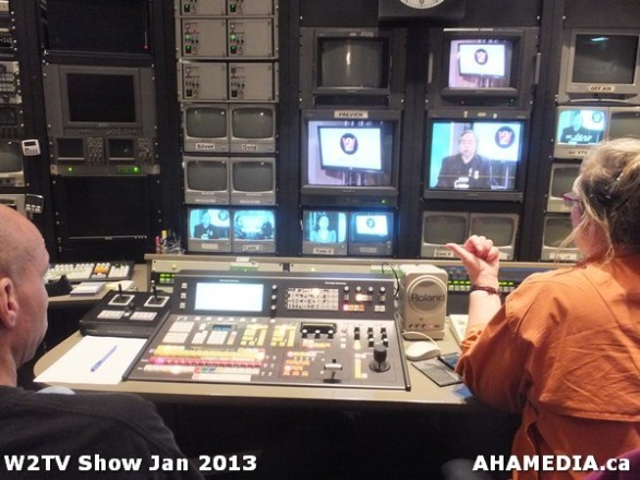 16 AHA MEDIA at W2TV Show taping Jan 20 2013 at Shaw Studios