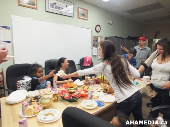 16 AHAMEDIA at Birthday Party and End of 30 Hr Fast for Idle No More