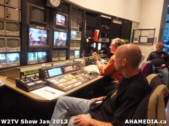 17 AHA MEDIA at W2TV Show taping Jan 20 2013 at Shaw Studios