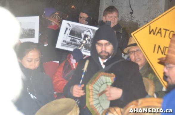 18 AHA MEDIA at Idle No More Flash Mob against Oprah Winfrey's Show in Vancouver