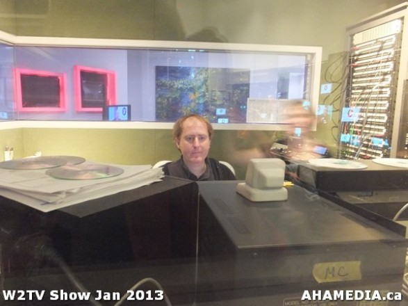 18 AHA MEDIA at W2TV Show taping Jan 20 2013 at Shaw Studios