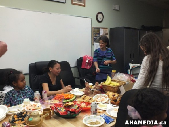 18 AHAMEDIA at Birthday Party and End of 30 Hr Fast for Idle No More
