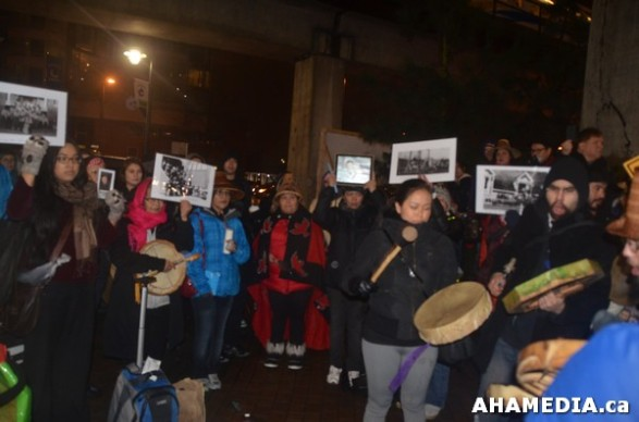 19 AHA MEDIA at Idle No More Flash Mob against Oprah Winfrey's Show in Vancouver