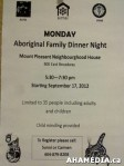 2 AHA MEDIA sees Scott Clark of ALIVE speak on Idle No More at Mount Pleasant Neighbourhood House in