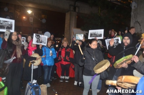 20 AHA MEDIA at Idle No More Flash Mob against Oprah Winfrey's Show in Vancouver