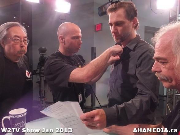 20 AHA MEDIA at W2TV Show taping Jan 20 2013 at Shaw Studios