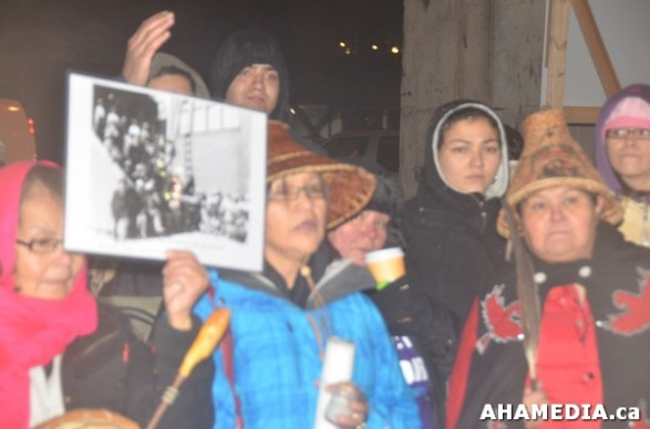 21 AHA MEDIA at Idle No More Flash Mob against Oprah Winfrey's Show in Vancouver