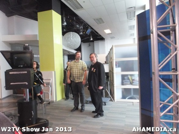 21 AHA MEDIA at W2TV Show taping Jan 20 2013 at Shaw Studios