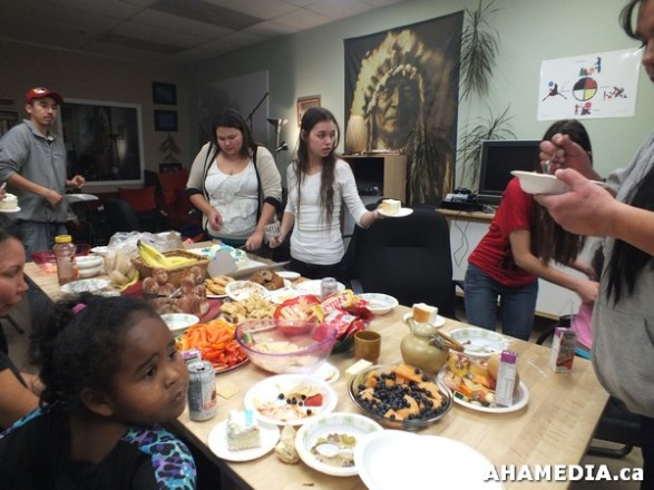 21 AHAMEDIA at Birthday Party and End of 30 Hr Fast for Idle No More