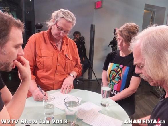 22 AHA MEDIA at W2TV Show taping Jan 20 2013 at Shaw Studios