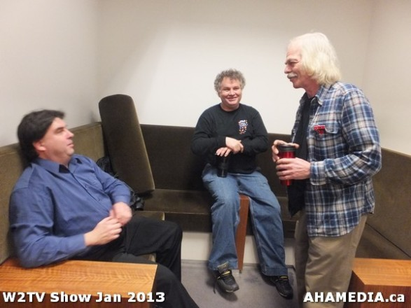 24 AHA MEDIA at W2TV Show taping Jan 20 2013 at Shaw Studios