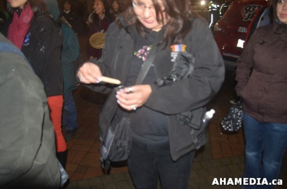 25 AHA MEDIA at Idle No More Flash Mob against Oprah Winfrey's Show in Vancouver