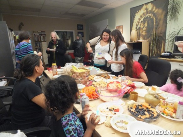 25 AHAMEDIA at Birthday Party and End of 30 Hr Fast for Idle No More