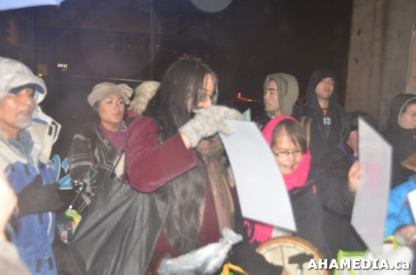 26 AHA MEDIA at Idle No More Flash Mob against Oprah Winfrey's Show in Vancouver