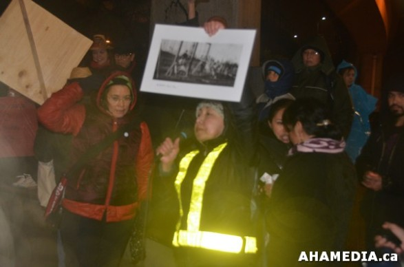 27 AHA MEDIA at Idle No More Flash Mob against Oprah Winfrey's Show in Vancouver