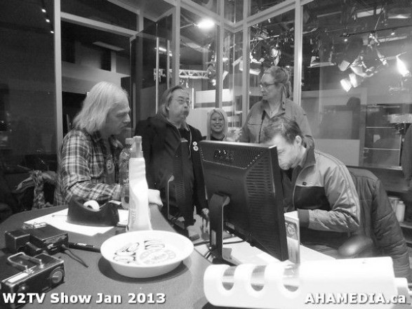 27 AHA MEDIA at W2TV Show taping Jan 20 2013 at Shaw Studios
