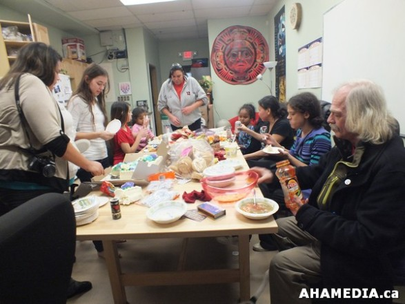 29 AHAMEDIA at Birthday Party and End of 30 Hr Fast for Idle No More
