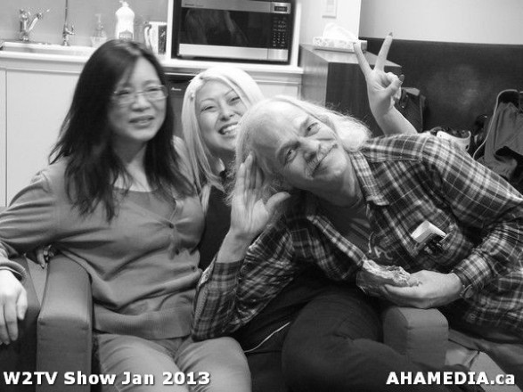30 AHA MEDIA at W2TV Show taping Jan 20 2013 at Shaw Studios