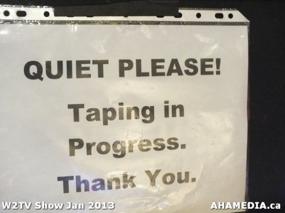 31 AHA MEDIA at W2TV Show taping Jan 20 2013 at Shaw Studios