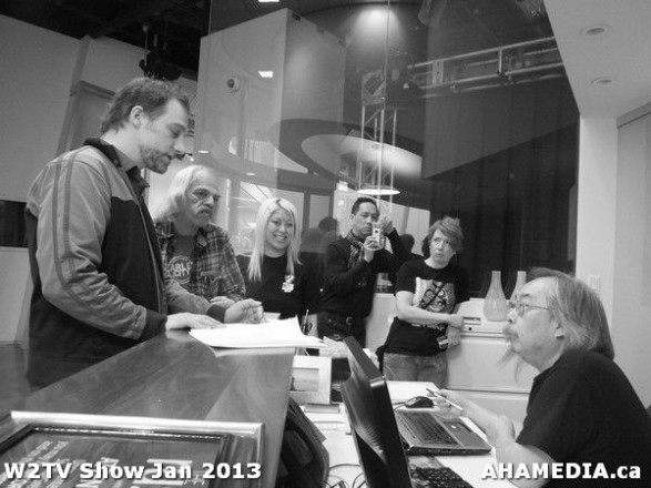 32 AHA MEDIA at W2TV Show taping Jan 20 2013 at Shaw Studios
