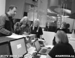 33 AHA MEDIA at W2TV Show taping Jan 20 2013 at Shaw Studios