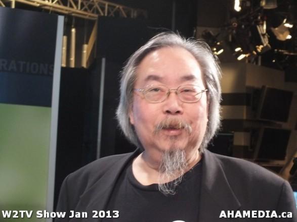 34 AHA MEDIA at W2TV Show taping Jan 20 2013 at Shaw Studios