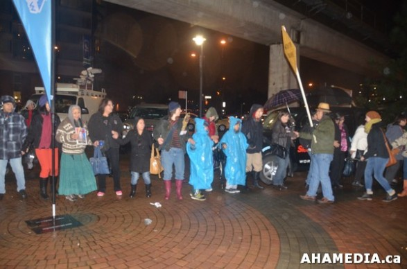 35 AHA MEDIA at Idle No More Flash Mob against Oprah Winfrey's Show in Vancouver