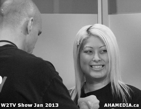 35 AHA MEDIA at W2TV Show taping Jan 20 2013 at Shaw Studios